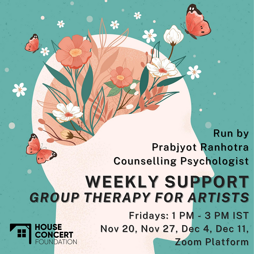 Group Therapy For Artists: Fridays (1)
