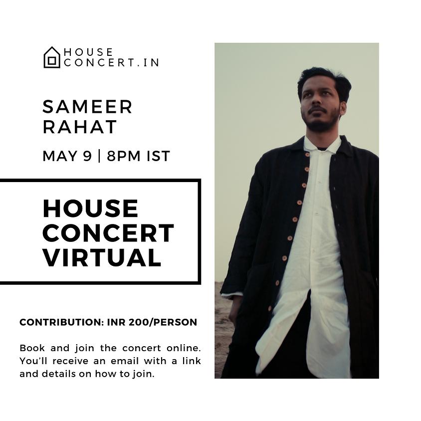 Sameer Rahat, Live from Mumbai