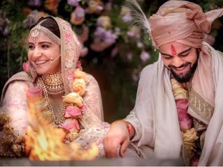 Anushka Sharma & Virat Kohli get hitched!!!