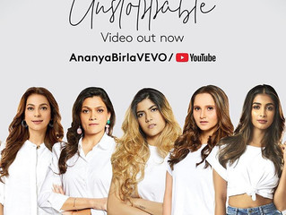 """Ananya Birla Releases Powerful New video for """"Unstoppable"""""""