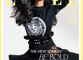 Neelam Gill graces the cover of ELLE