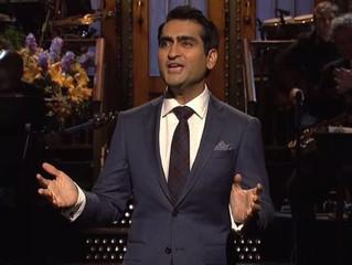 Kumail Nanjiani hosts Saturday Night Live with Season High ratings!