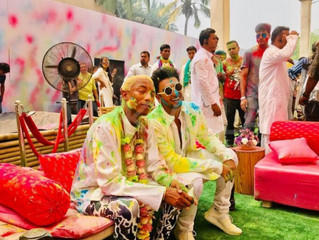 Holi with Ranveer & Pharrell in Mumbai!!!