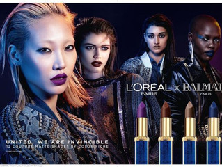 Neelam Gill, the new face of L'Oréal Paris x Balmain