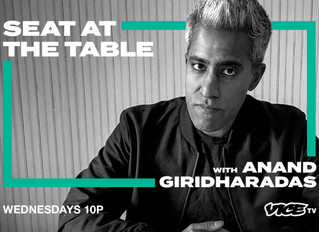 Vice TV Sets Weekly News & Talk Show 'Seat At The Table' With Former New York Times Columnist An