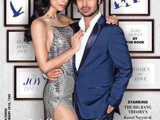 Kunal & Neha Nayyar cover Harper's Barzaar