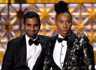 Aziz Ansari wins Best Comedy writing 2nd year in a row!
