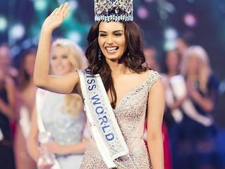 Manushi Chhillar - Crowned Miss World 2017