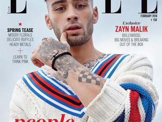 Zayn Malik graces the cover of Elle India