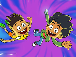 Nickelodeon Int'l Sets India Co-Production 'The Twisted Timeline of Sammy & Raj'