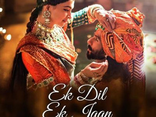 """Ek Dil Ek Jaan"" from the highly anticipated film, Padmavati"