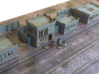 A modular terrain town...
