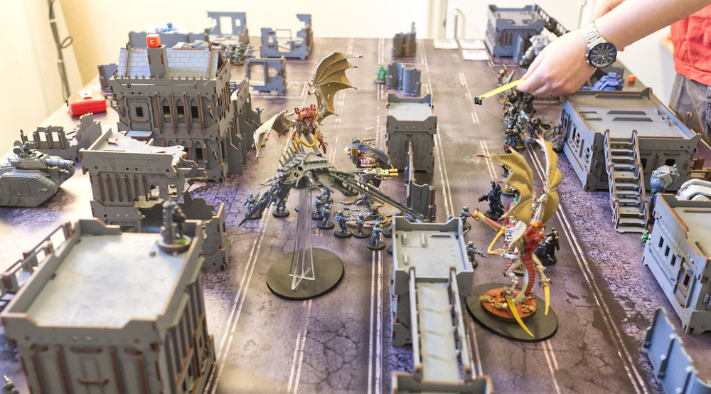 The battle continues, with lots of proxying.