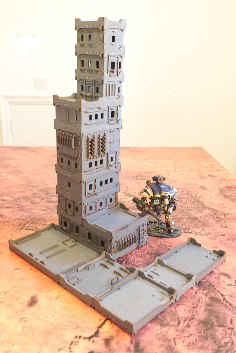 A skyscraper!