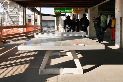Centre d'accueil des migrants- Porte de La Chapelle-Paris