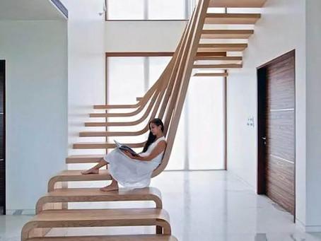 Escaleras en viviendas unifamiliares: un elemento cada día con mayor protagonismo.