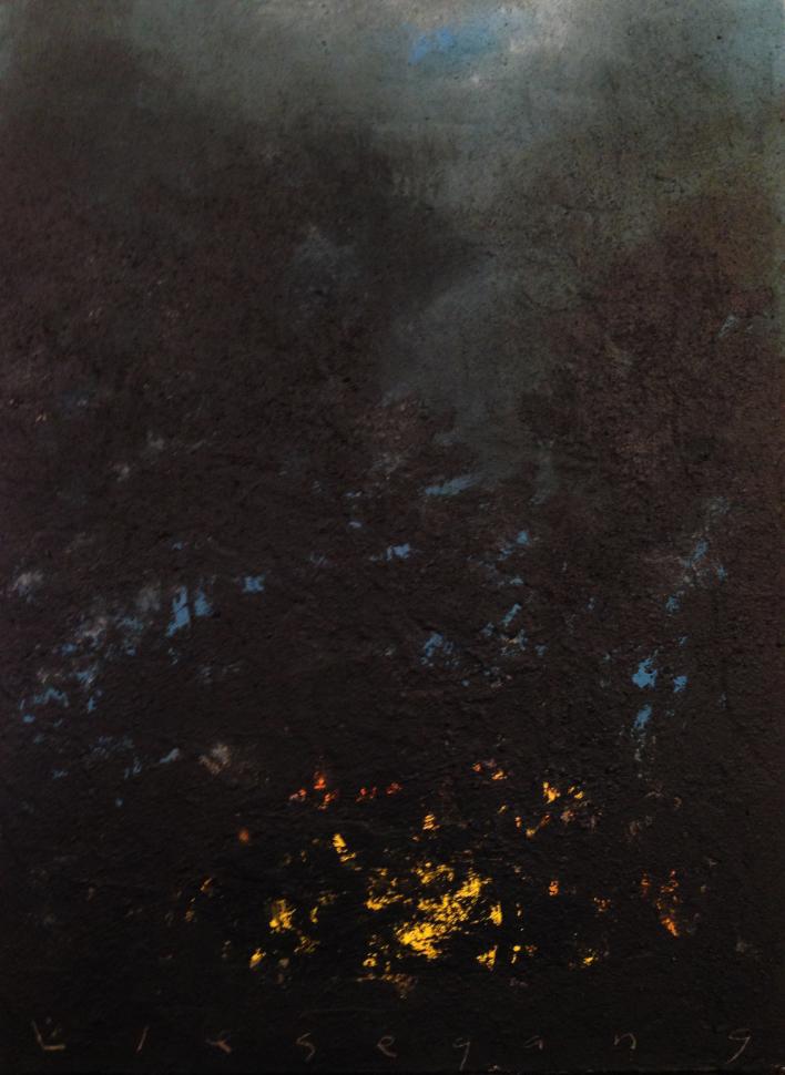 """Sunset Through Trees"""