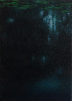 """""""Composition in Nightshade and Blue"""""""