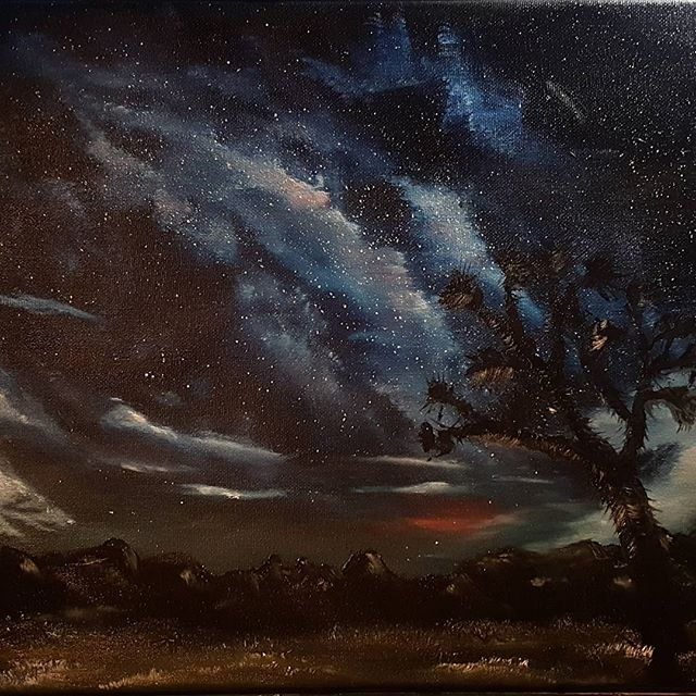 Joshua Tree Under Stars #1