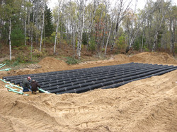 Septic field Midwest Installed