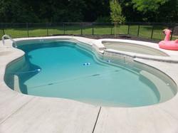 Fiberglass Pool picture