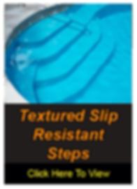 Textured Slip Resistant Steps