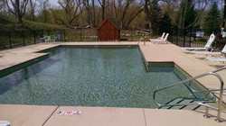 Inground commercial Campground pool