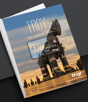 Troy Card Poster Series