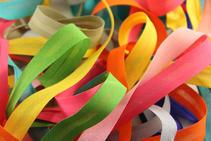 Various ribbon colours