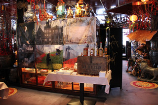 Display by the entrance