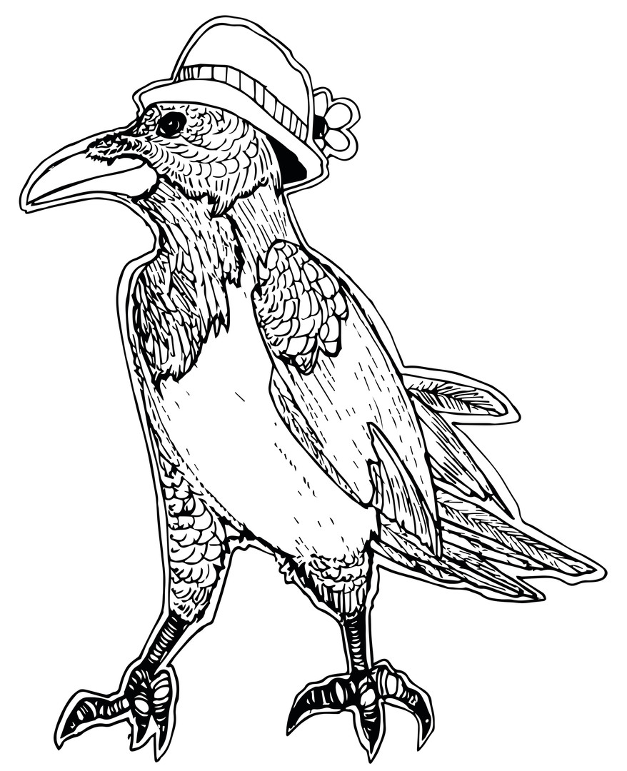 Country Crow