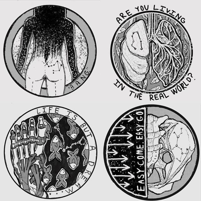 Top left to bottom right_ Libra, Gemini,