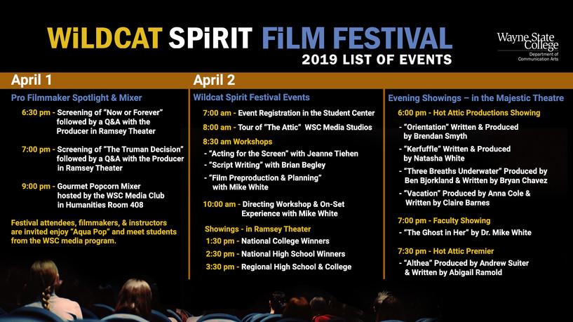 Wildcat Spirit Film Festival Kiosk.jpg