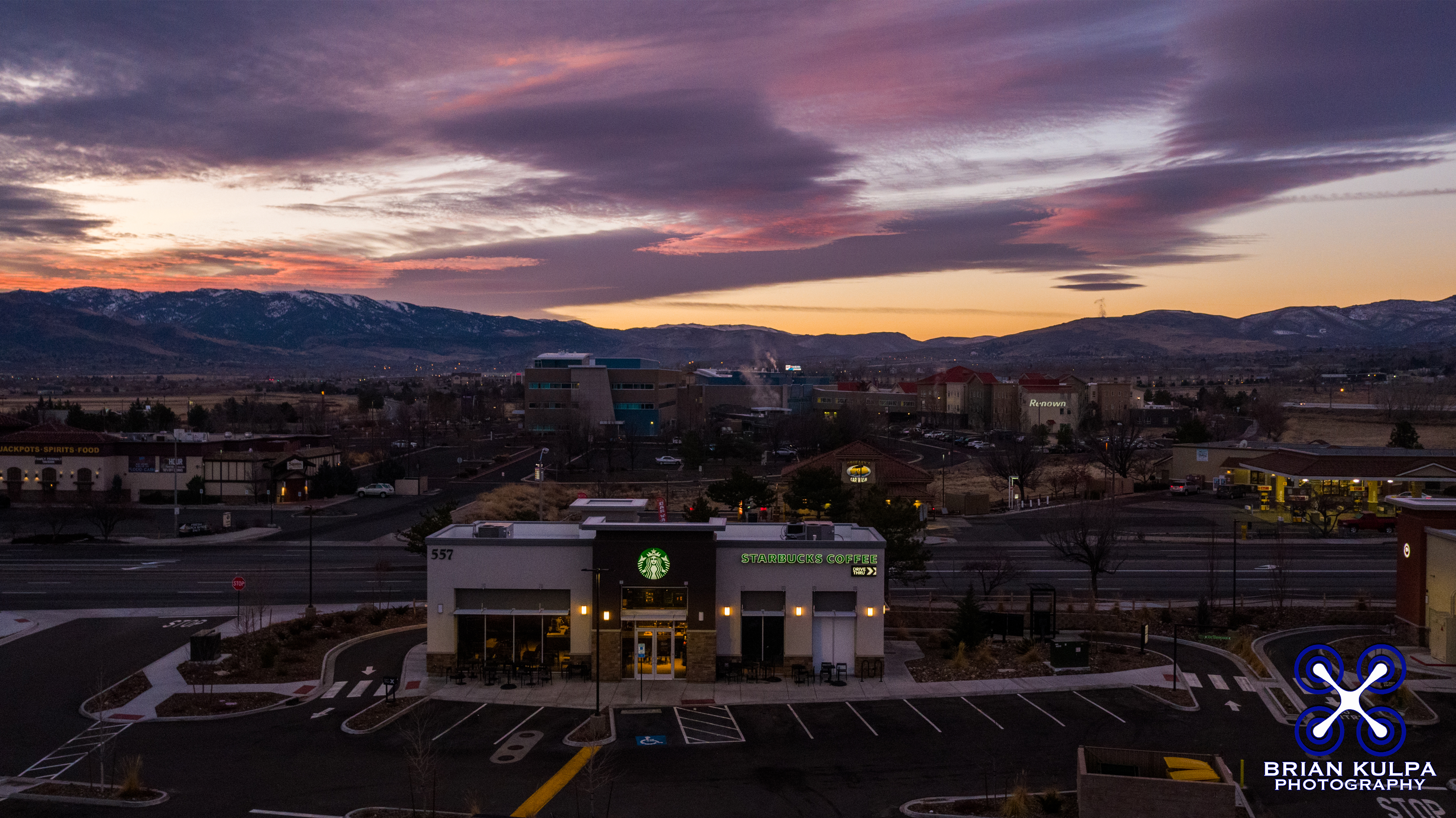 Starbucks Reno Sunrise