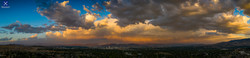 Reno Dust Storm Sunset