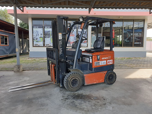 (A010) ELECTRIC FORKLIFT TOYOTA 1.5 T.