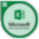 Microsoft Office Specialist Excel Badge