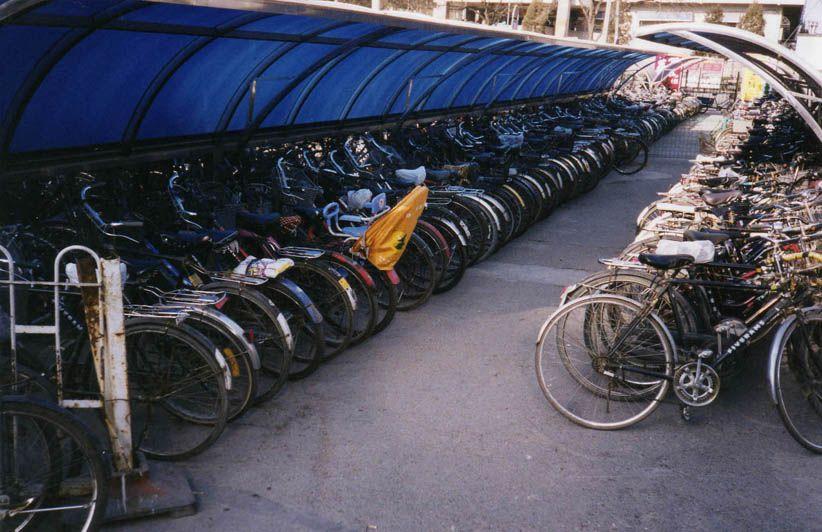 Parc à vélos - Pékin