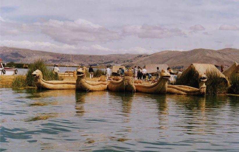 Iles Uros - Lac Titicaca