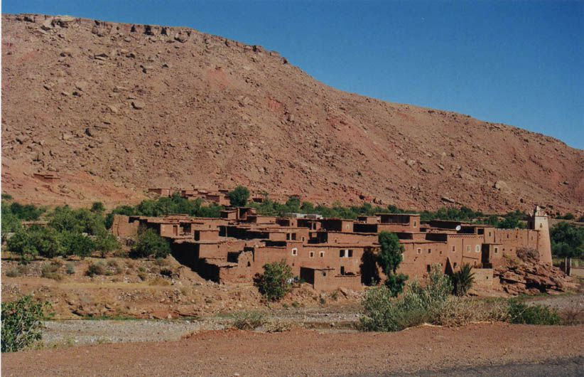 Village route Ouarzazate
