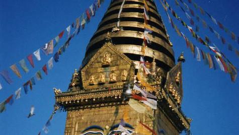 Temple Pashupatinhate - Katmandu