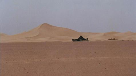 Tente berbère désert