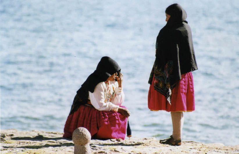 Iliennes d'Amantani - Lac Titicaca