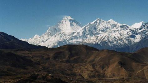 Dhaulagiri 8167m -  Tour des Annapurnas