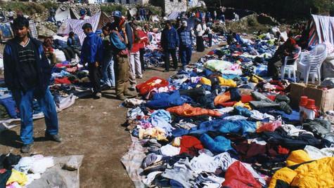 Marché tibétain - Namche Bazar