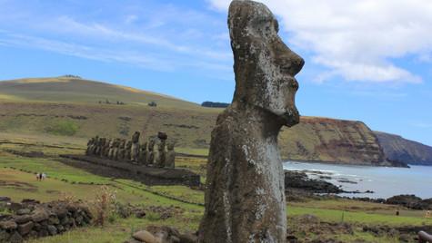 Ahu Tongariki - Ile de Pâques