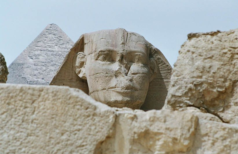 Le Caire Sphinx