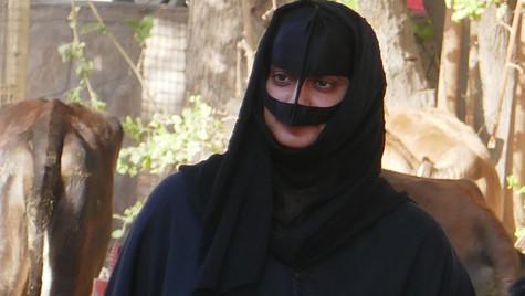 Femme bédouine - Marché de Nizwa