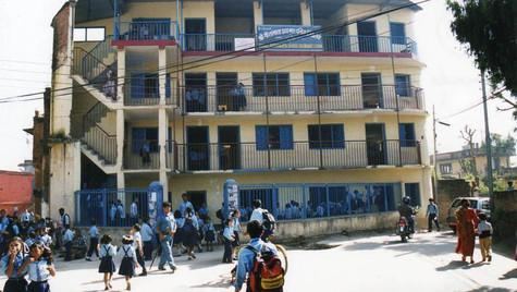 Écoliers en uniforme - Katmandu