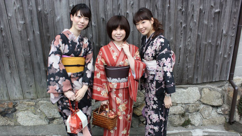 Femmes en tenue traditionnelle - Kyoto